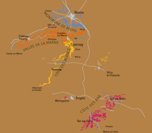 Карта виноградников