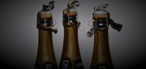 бутылки с Champagne