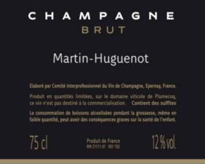 Этикетка Champagne